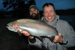 Taupo fishing guide Roy Bowers