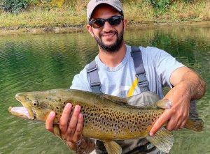 Abdul Big Waitahanui River Brown Trout Flyfishing