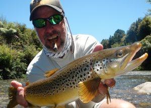 Leon first NZ Brown Trout